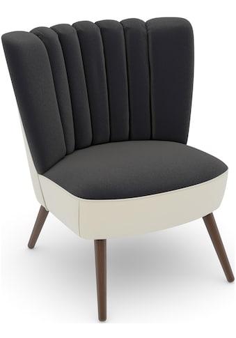 Max Winzer® Sessel »build-a-chair Aspen«, im Retrolook, zum Selbstgestalten kaufen