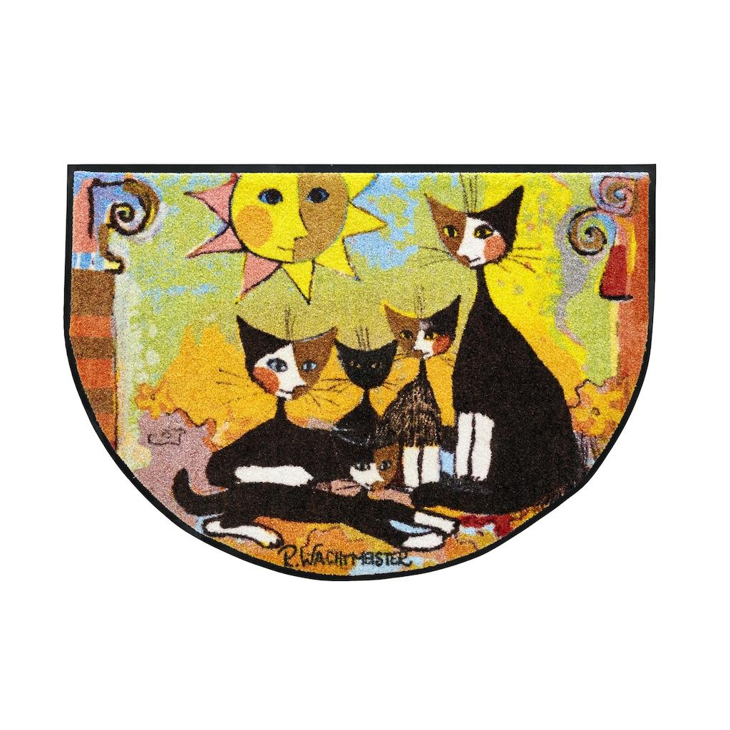 Fußmatte ROSINA SOTTO Katze, waschbar