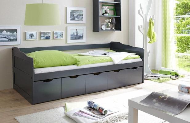Tagesbett in Grau
