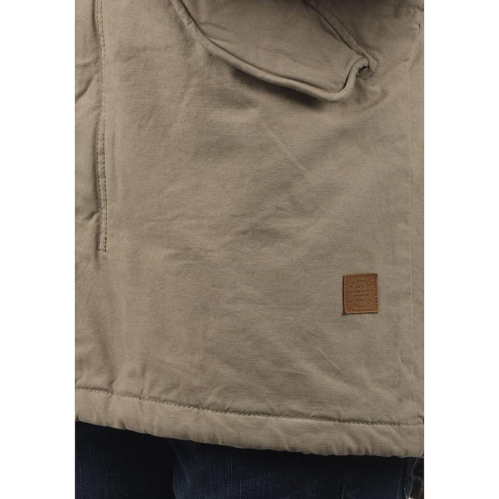 Jack & Jones Parka »Jabari«, warme Jacke mit hochabschließendem Stehkragen