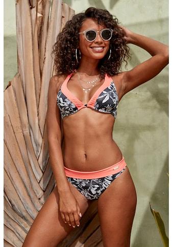 Sunseeker Bikini-Hose »Mono«, mit kontrastfarbenem Umschlagbund kaufen