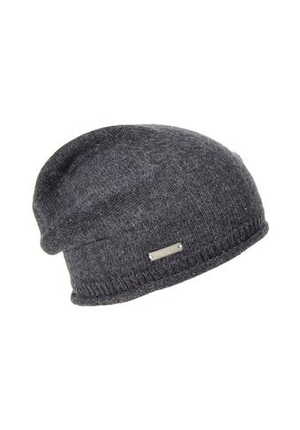 Seeberger Strickmütze »lässige Mütze mit Rippen Detail 17600 - 0« kaufen