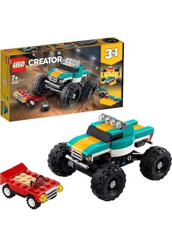 """LEGO® Konstruktionsspielsteine """"Monster - Truck(31101), LEGO® Creator"""", (163 - tlg.) kaufen"""