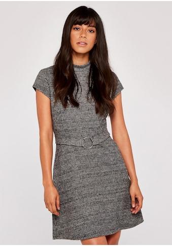 Apricot Etuikleid »Dogtooth Squared Jacquard Dress«, mit Schlüssellochausschnitt kaufen