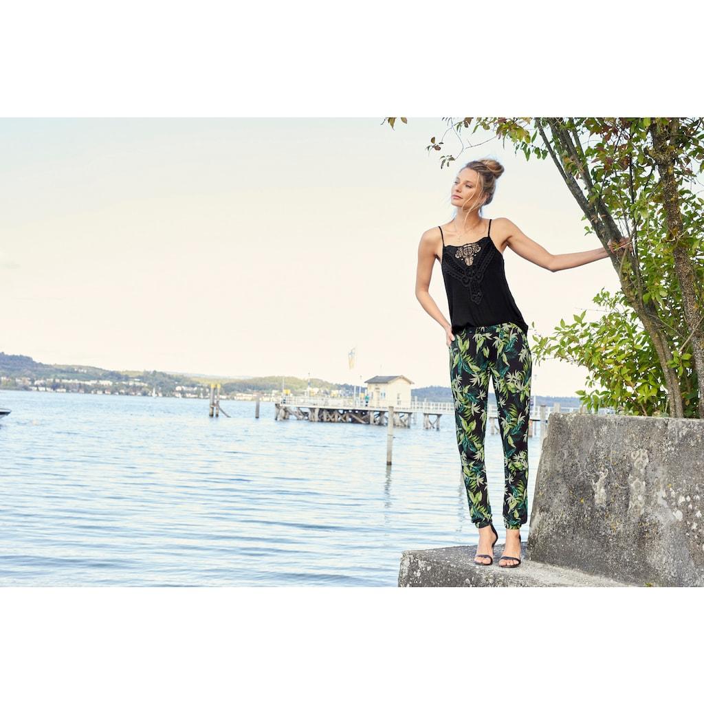 Aniston CASUAL Schlupfhose, im Dschungel-Look - NEUE KOLLEKTION