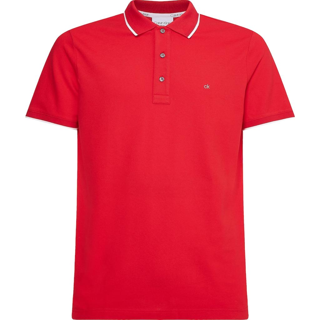 Calvin Klein Poloshirt »STRETCH TIPPING SLIM POLO«