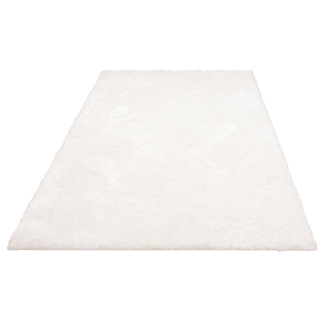 Home affaire Hochflor-Teppich »Malin«, rechteckig, 43 mm Höhe, Besonder weich durch Microfaser, Wohnzimmer