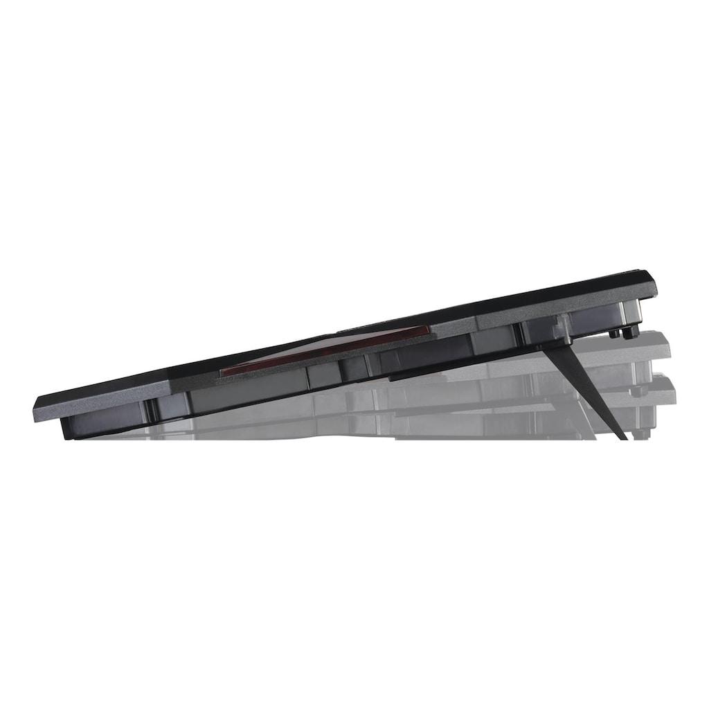 DELTACO Notebook-Kühler »Laptop-Kühler«, 1000-1300 U/min; 5x140mm; Lüfter