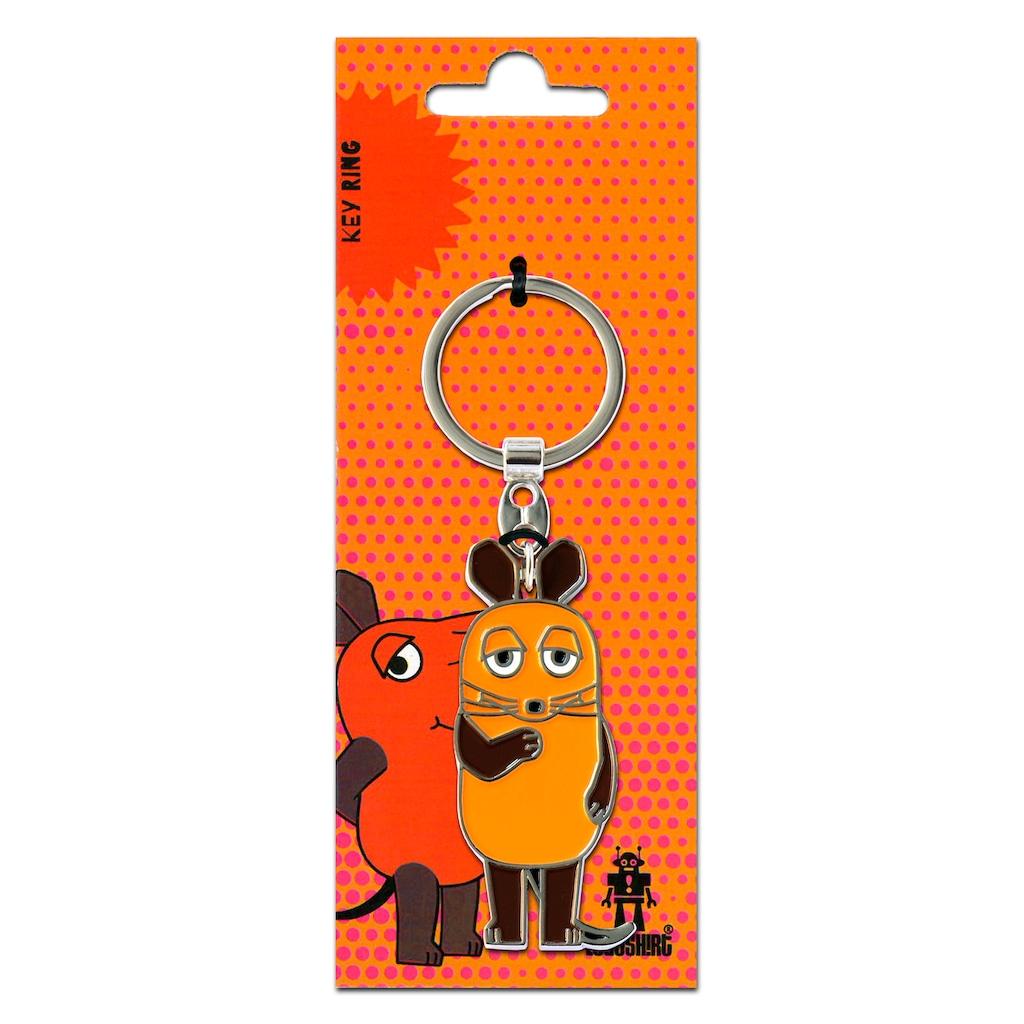 LOGOSHIRT Schlüsselanhänger »Die Maus«, mit lizenziertem Originaldesign