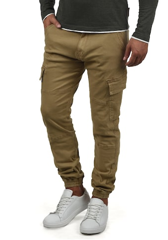 Indicode Cargohose »Bromfield«, lange Hose mit elastischen Beinbündchen kaufen