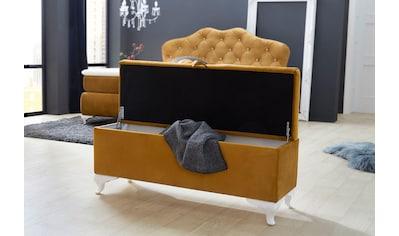 Jockenhöfer Gruppe Bettbank, mit Stauraum kaufen