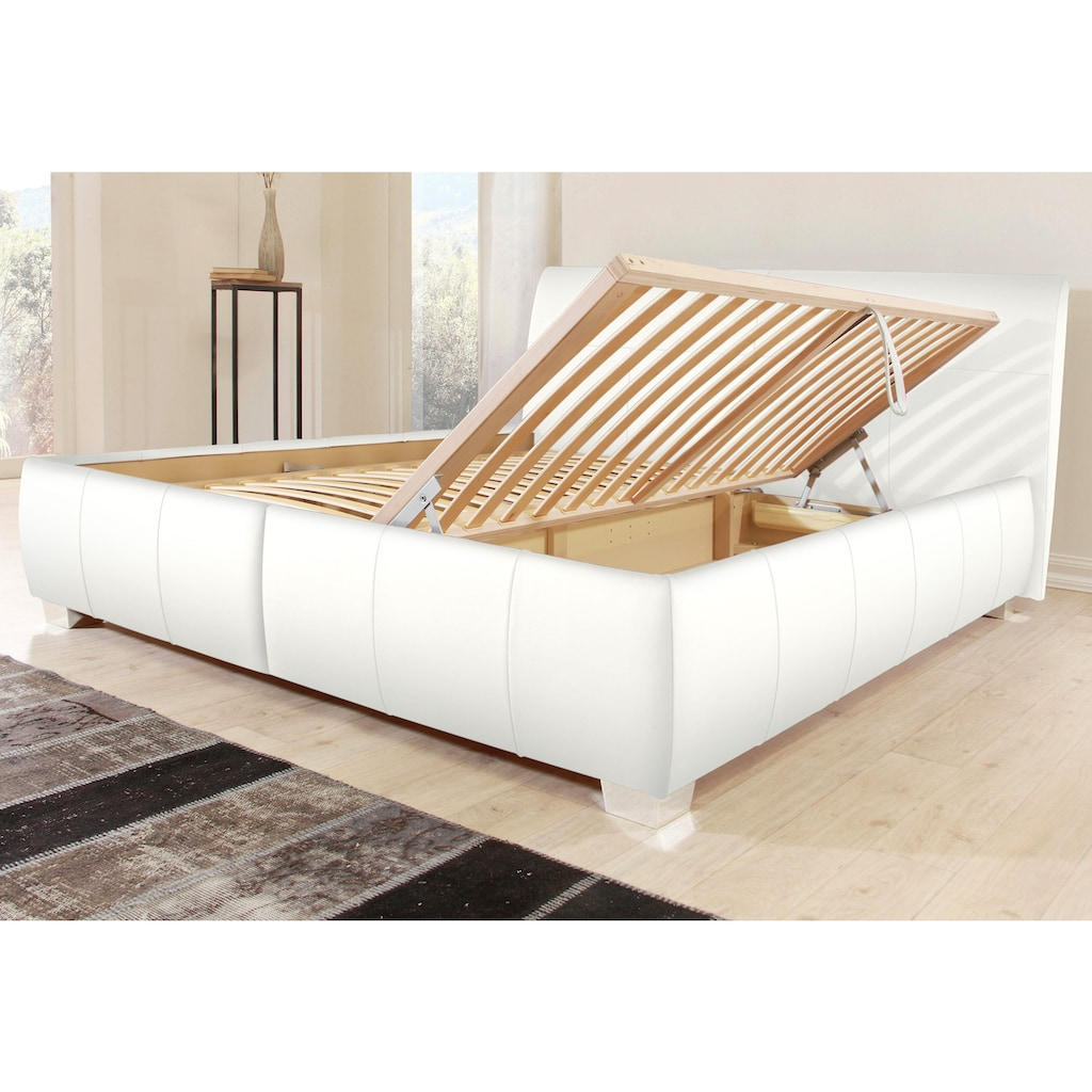 ADA premium Polsterbett »Tiana«, mit Bettkasten, inklusive Lattenrost