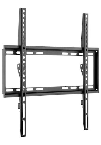Goobay TV-Wandhalterung »Fixed M für TV von 32-55 Zoll, Schwarz«, Extra flacher... kaufen