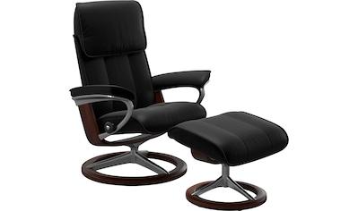 Stressless® Relaxsessel »Admiral«, mit Hocker, mit Signature Base, Größe M & L, Gestell Braun kaufen