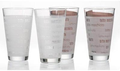 Ritzenhoff & Breker Latte-Macchiato-Glas »Chicco«, (Set, 4 tlg., (4 Becher)),... kaufen