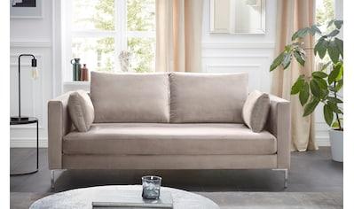 Alte Gerberei 2-Sitzer »Marinus«, mit schmalen Lehnen, inklusive Rückenkissen & Armlehnkissen kaufen