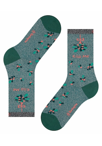 Burlington Socken »Kiss Mas«, (1 Paar), ein pflegeleichtes Material kaufen