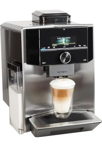 SIEMENS Kaffeevollautomat »EQ.9 s400 TI924501DE«, individualCoffee System:... kaufen