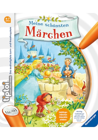 Buch »tiptoi® Meine schönsten Märchen / Anja Kiel, Carola Sturm« kaufen