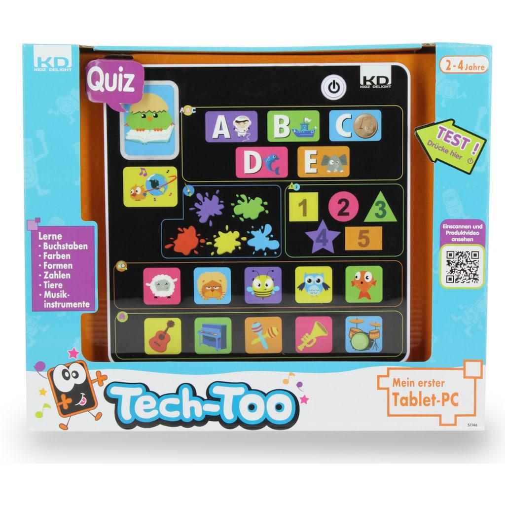 Lerntablet »KD Kidz Delight, Tech Too Mein erster Tablet PC«