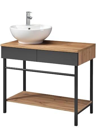 WELLTIME Set: Waschtisch »Haarlem«, Waschtisch, Breite 87,6 cm kaufen