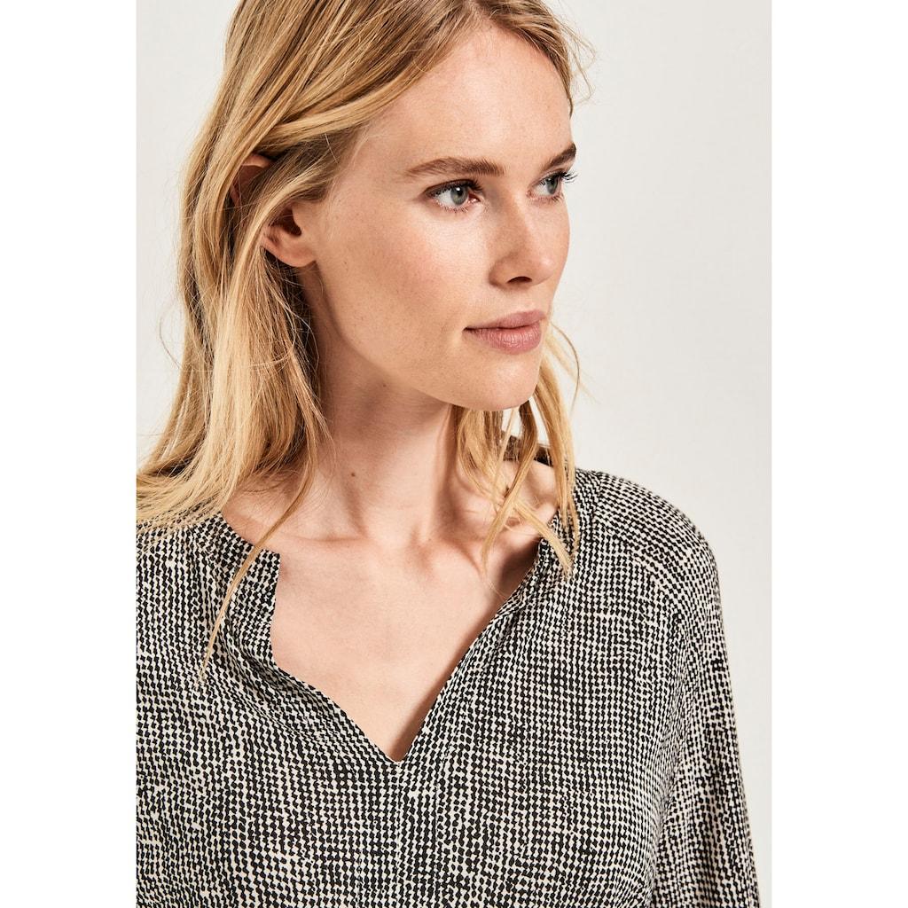OPUS Blusenshirt »Sobama«, mit elastischen Bündchen