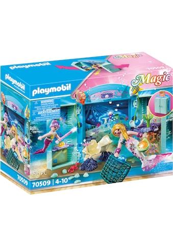 Playmobil® Konstruktions-Spielset »Spielbox Meerjungfrauen (70509), Magic« kaufen