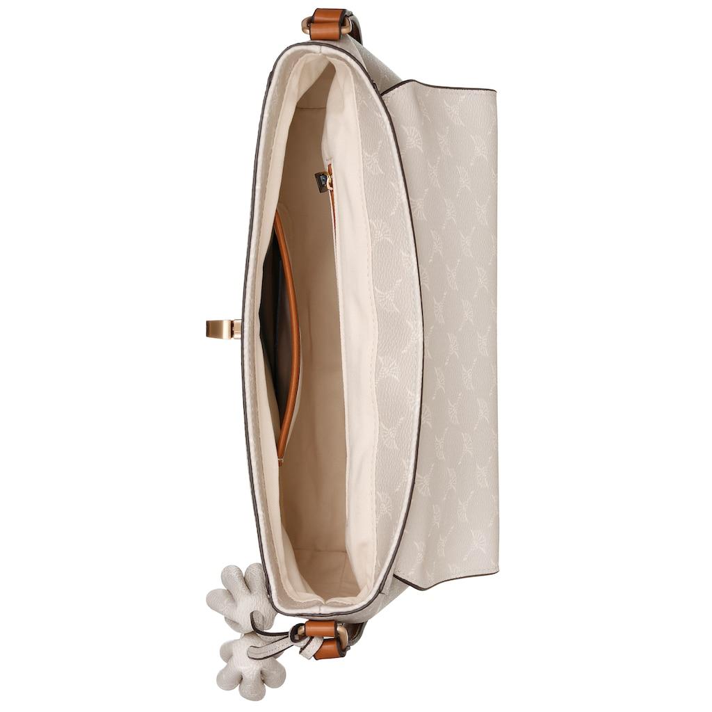 Joop! Umhängetasche »cortina maila shoulderbag shf«, mit Schmuckanhänger und goldfarben Details