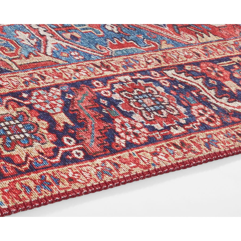 NOURISTAN Teppich »Amata«, rechteckig, 5 mm Höhe, Vintage Design, Orient-Optik, Wohnzimmer