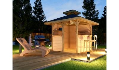 weka Pavillon »Gartenoase«, (Set), BxT: 294x294 cm, inkl. Brüstung kaufen