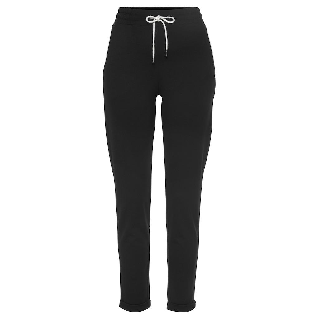 Ocean Sportswear Jogginghose »Slim Fit«, mit Aufschlag am Beinsaum