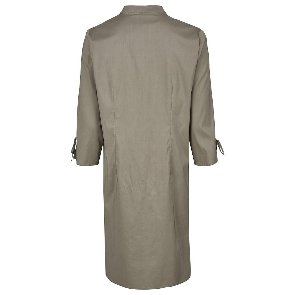 Daniel Hechter Kleid mit Stehkragen und Schleifendetails