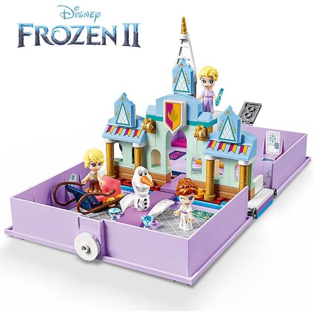 """LEGO® Konstruktionsspielsteine """"Annas und Elsas Märchenbuch (43175), LEGO® Disney Princess™"""", Kunststoff, (133-tlg.)"""