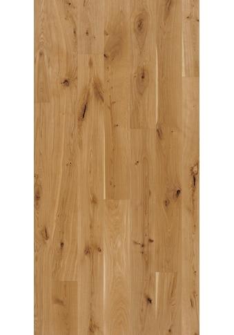 PARADOR Parkett »Eco Balance Rustikal - Eiche gebürstet«, Klicksystem, 2200 x 185 mm, Stärke: 13 mm, 3,66 m² kaufen