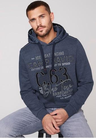 CAMP DAVID Kapuzensweatshirt, Mit großem Logoprint kaufen