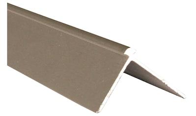 Slate Lite Abschlussprofil »Außeneckprofil F-Line«, kleben oder schrauben, Stahloptik kaufen