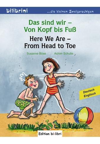 Buch »Das sind wir - Von Kopf bis Fuß / Susanne Böse, Achim Schulte« kaufen