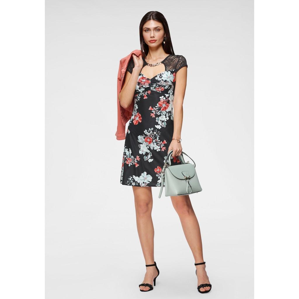 Melrose Sommerkleid, mit Zierschnalle und Spitze