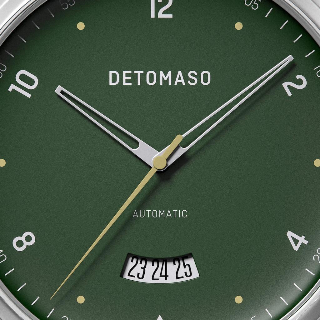 DETOMASO Automatikuhr »VIAGGIO AUTOMATIC GREEN«