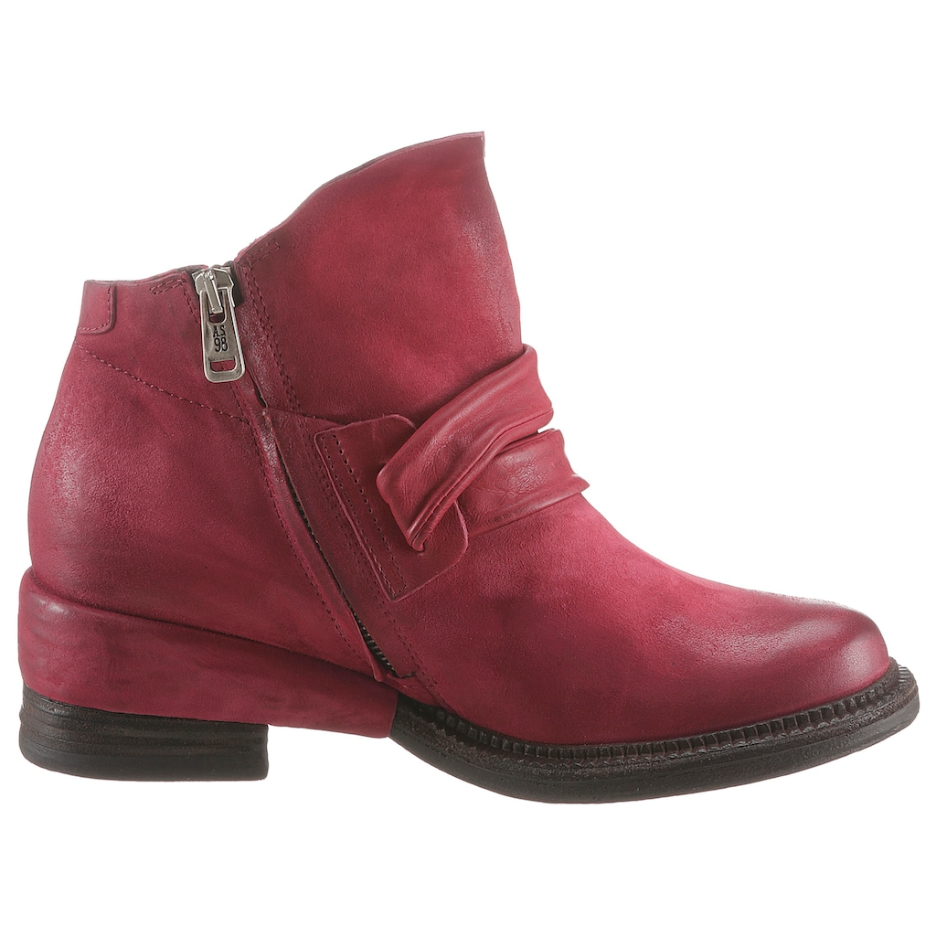 A.S.98 Bikerboots »MIRACLE«, im coolen Used Look
