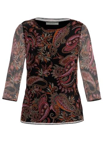 bianca Langarmshirt »DAMI«, im angesagten Paisley-Print aus Mesh kaufen