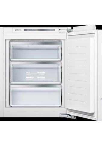 SIEMENS Einbaugefrierschrank »GI11VAFE0«, iQ500, 71,2 cm hoch, 56 cm breit kaufen