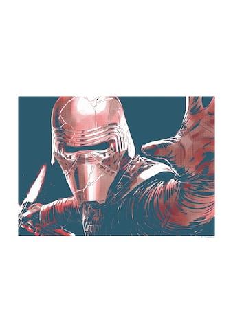 Komar Poster »Star Wars Faces Kylo«, Star Wars kaufen