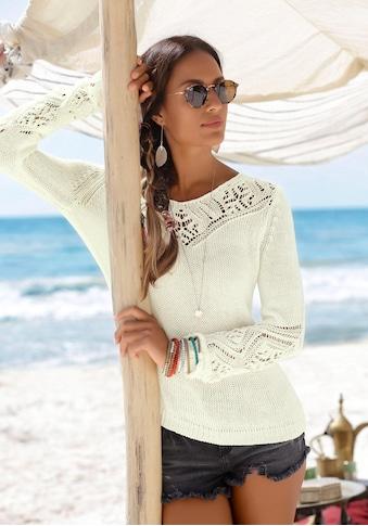 LASCANA Strandpullover kaufen