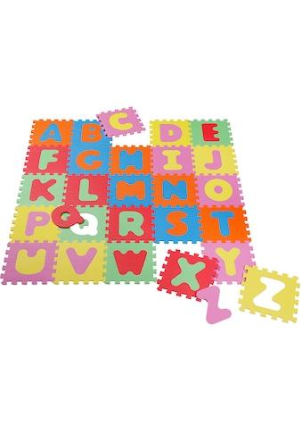Knorrtoys® Puzzle »Alphabet«, Puzzlematte, Bodenpuzzle kaufen