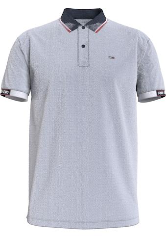 Tommy Jeans Poloshirt »TJM DETAIL RIB JAQUARD POLO« kaufen