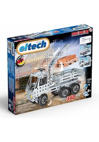 "Eitech Metallbaukasten ""LKW + Kipper"", Metall, (340 - tlg.) kaufen"