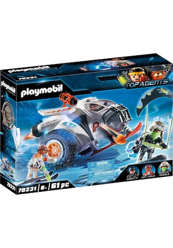 Playmobil® Konstruktions-Spielset »Spy Team Schneegleiter (70231), Top Agents«, (61... kaufen