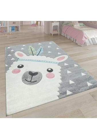 Kinderteppich, »Ela 214«, Paco Home, rund, Höhe 17 mm, maschinell gewebt kaufen