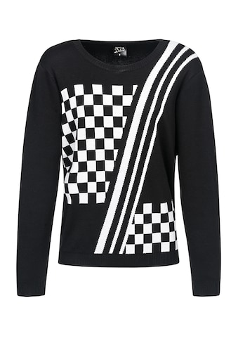 Pussy Deluxe Strickpullover »Checkered Knit Pullover« kaufen